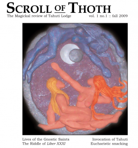 Scroll of Thoth Vol.1 Num.1